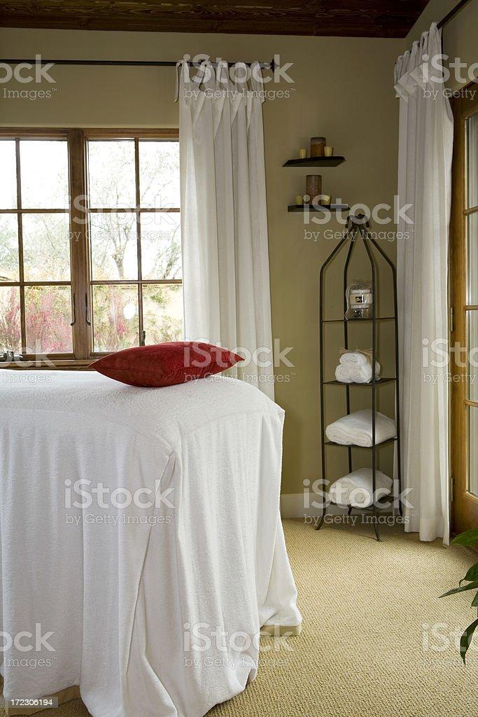 Massage Solarium (Vertical) stock photo