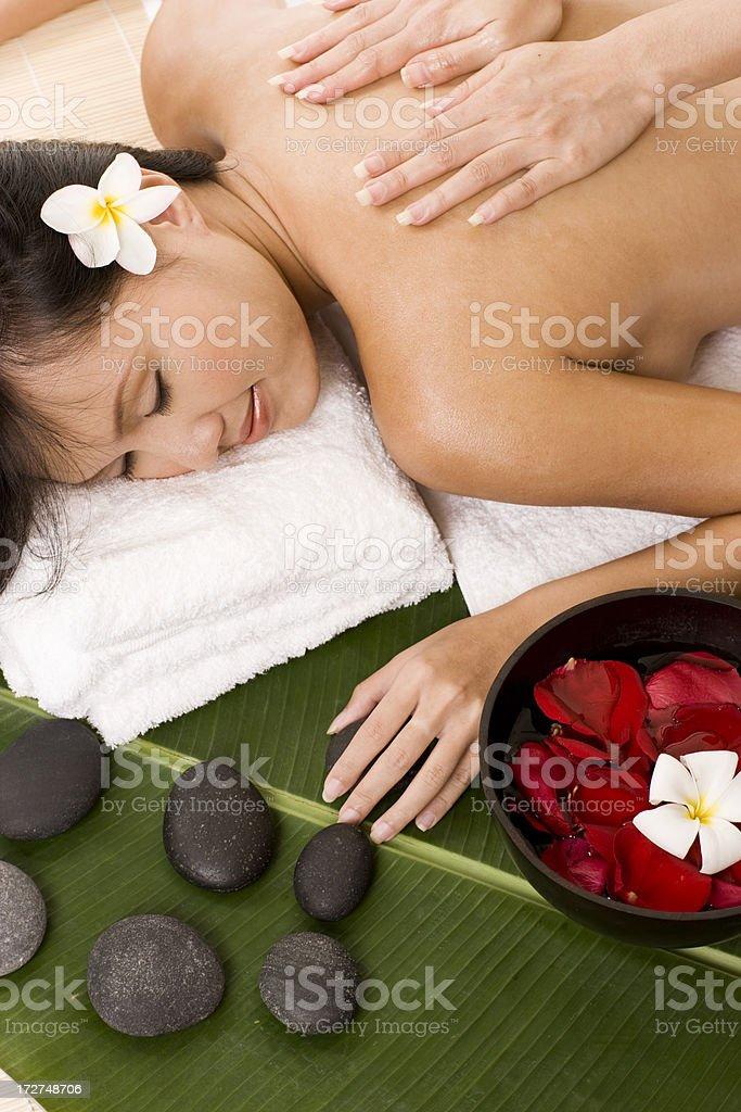 Massage - Spa royalty-free stock photo