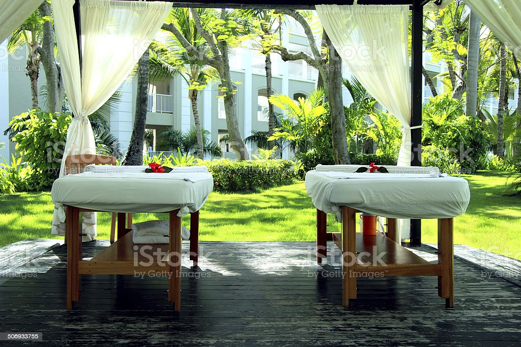 Massage, SPA stock photo