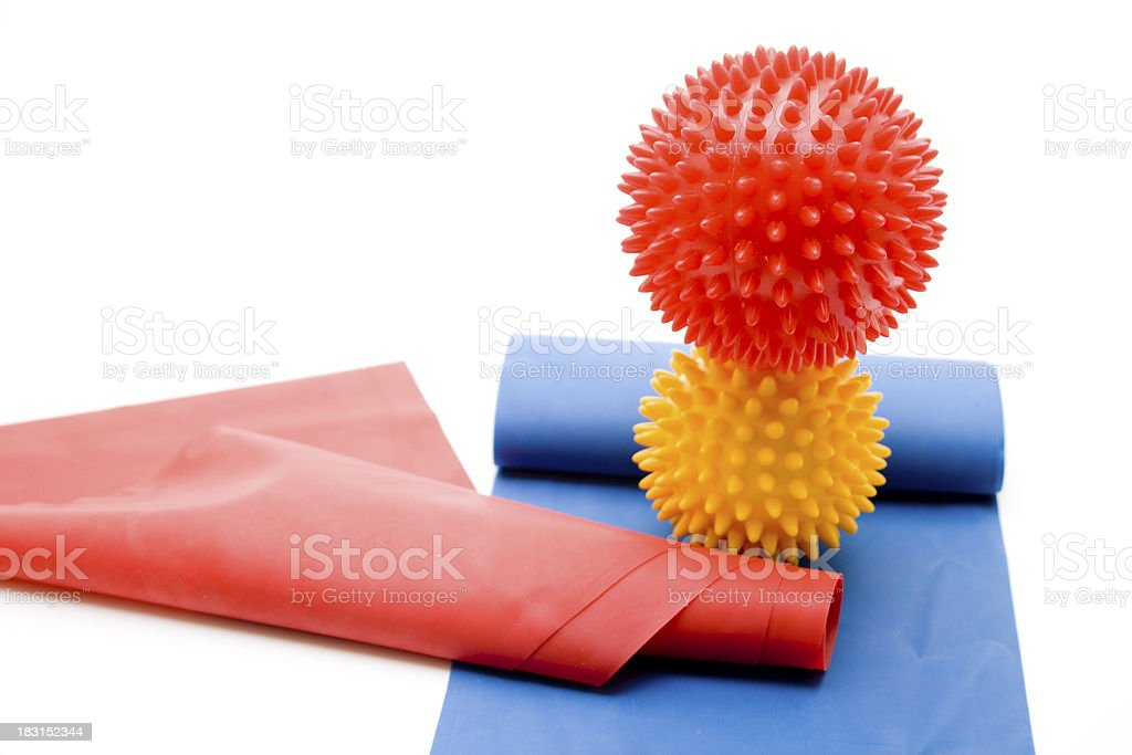 Massage sting ball royalty-free stock photo
