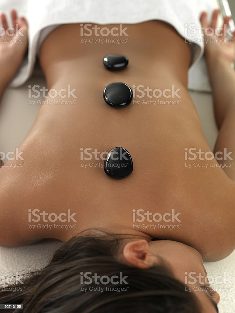 massage therapist 2 royalty-free stock photo