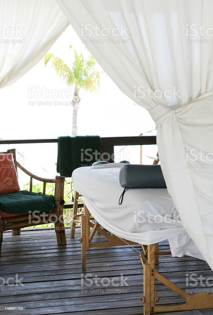 massage zone stock photo