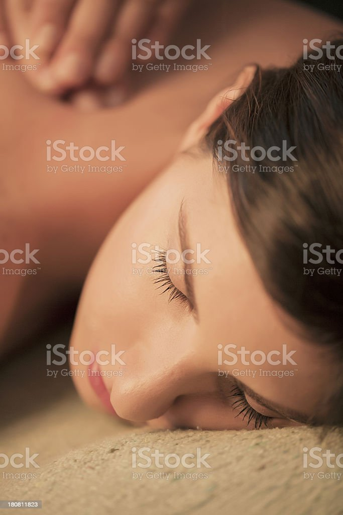 Massages royalty-free stock photo