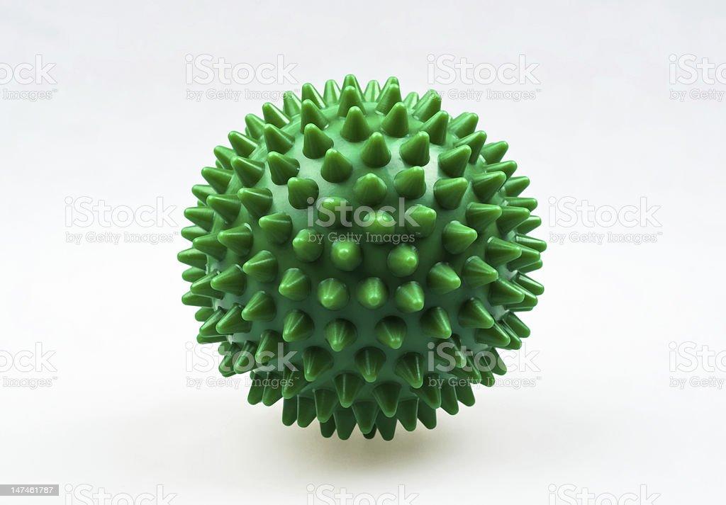 Massaging sphere royalty-free stock photo