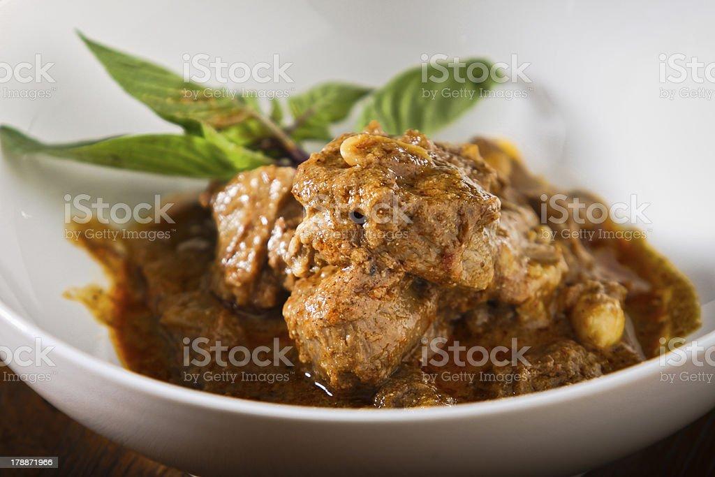 Massaman Curry royalty-free stock photo