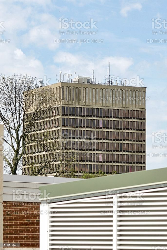 Massey Building, Fairfax County, Virginia stock photo