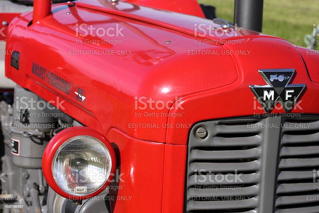 Massey Ferguson 35 Tractor stock photo