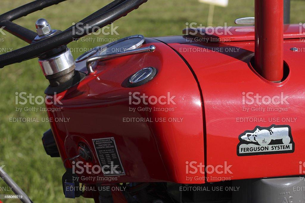 Massey Ferguson Tractor 35 stock photo