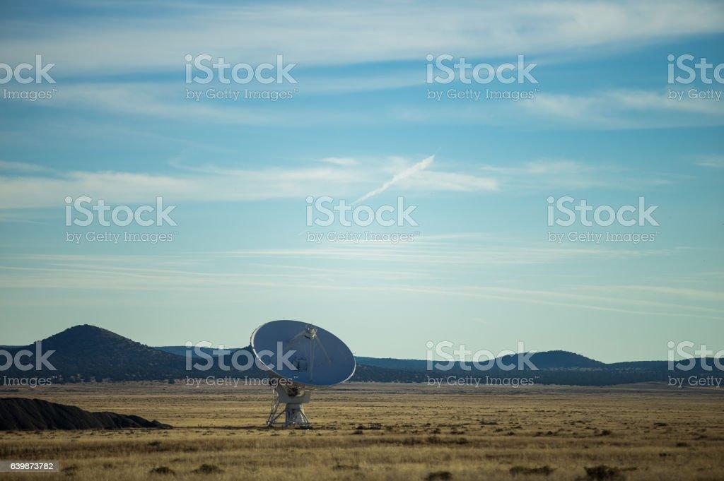 Massive Radio Telescope at Very Large Array stock photo