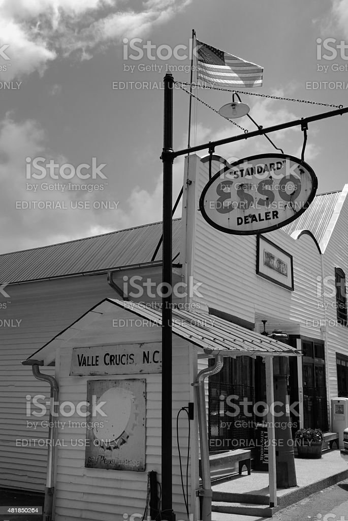 Mast General Store in Valle Crucis stock photo