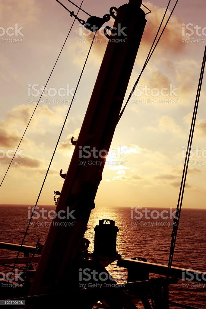 Mast royalty-free stock photo