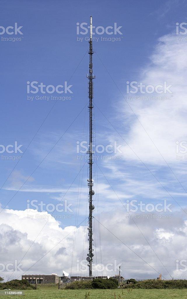 TV Mast royalty-free stock photo