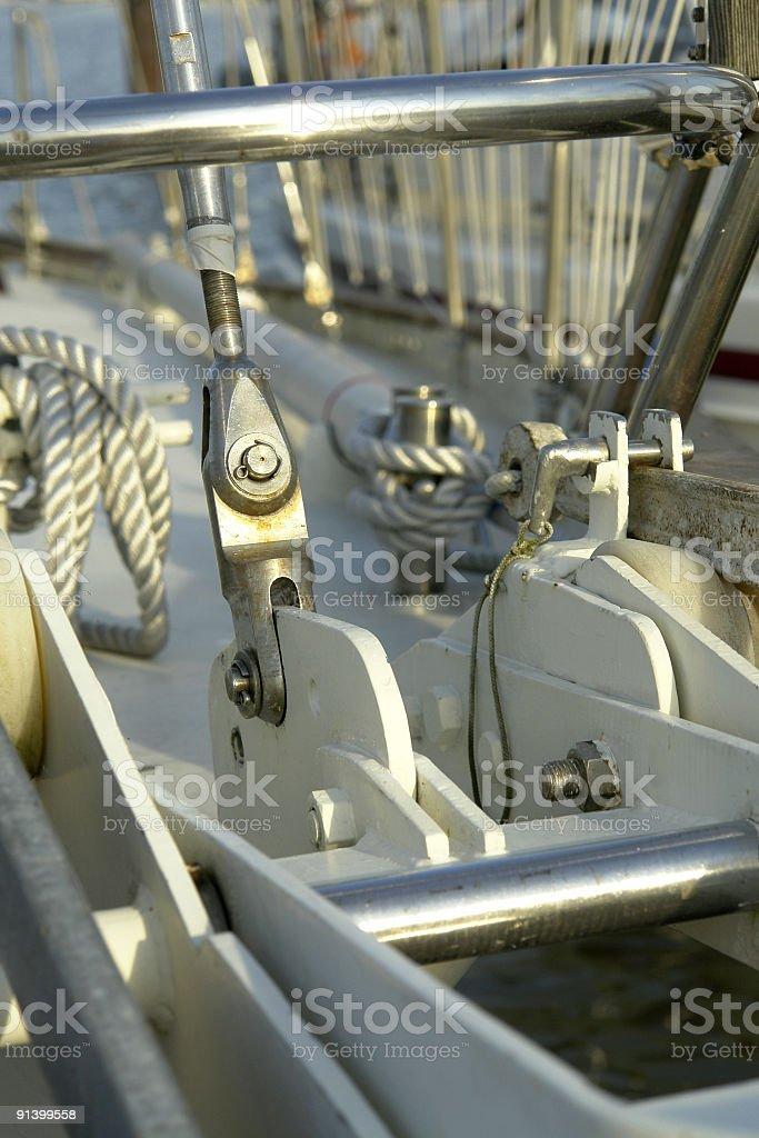 Mast Shrouds royalty-free stock photo