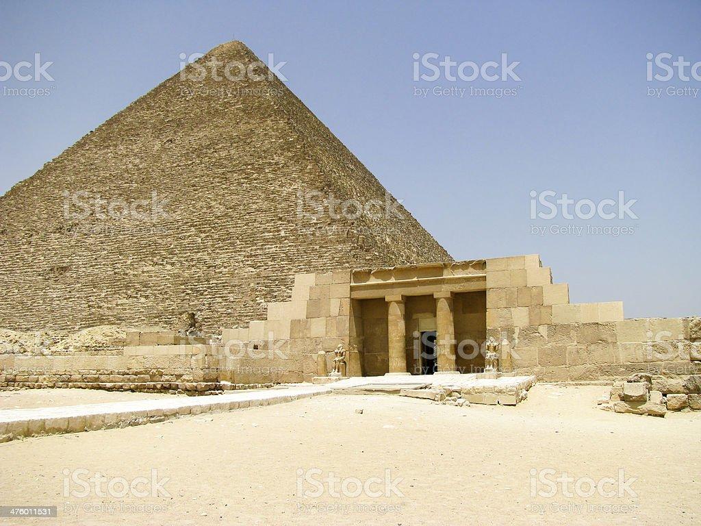 mastaba of Seshemnufer IV in Egypt royalty-free stock photo
