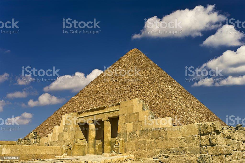 Mastaba of Seshemnufer IV stock photo