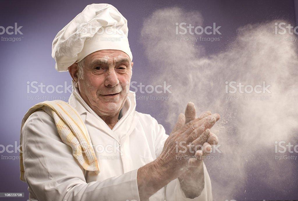 master baker stock photo