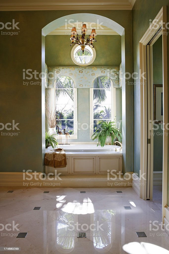 Master Bath royalty-free stock photo