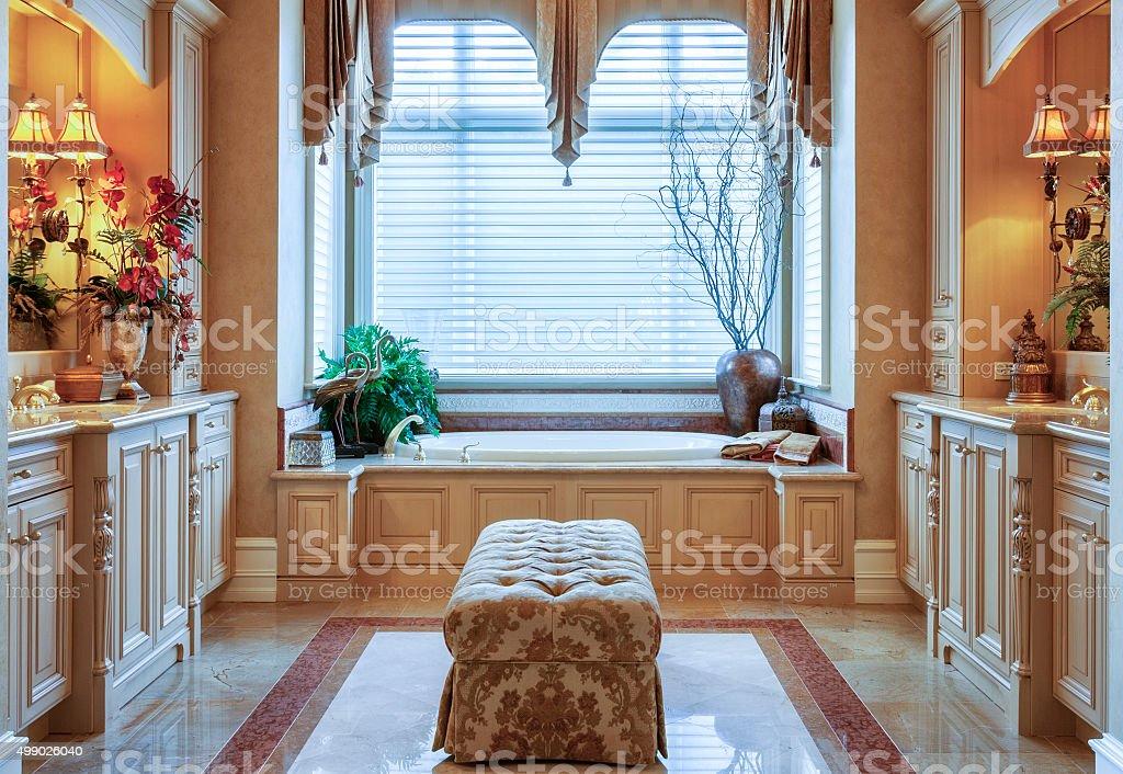 Master Bath stock photo