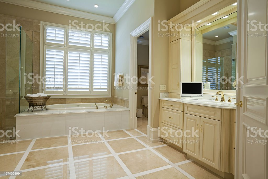 Master Bathroom royalty-free stock photo