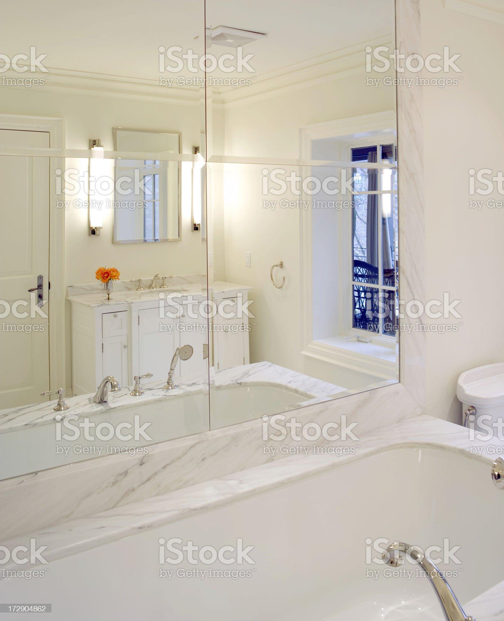 Master Bathroom royalty-free stock photo