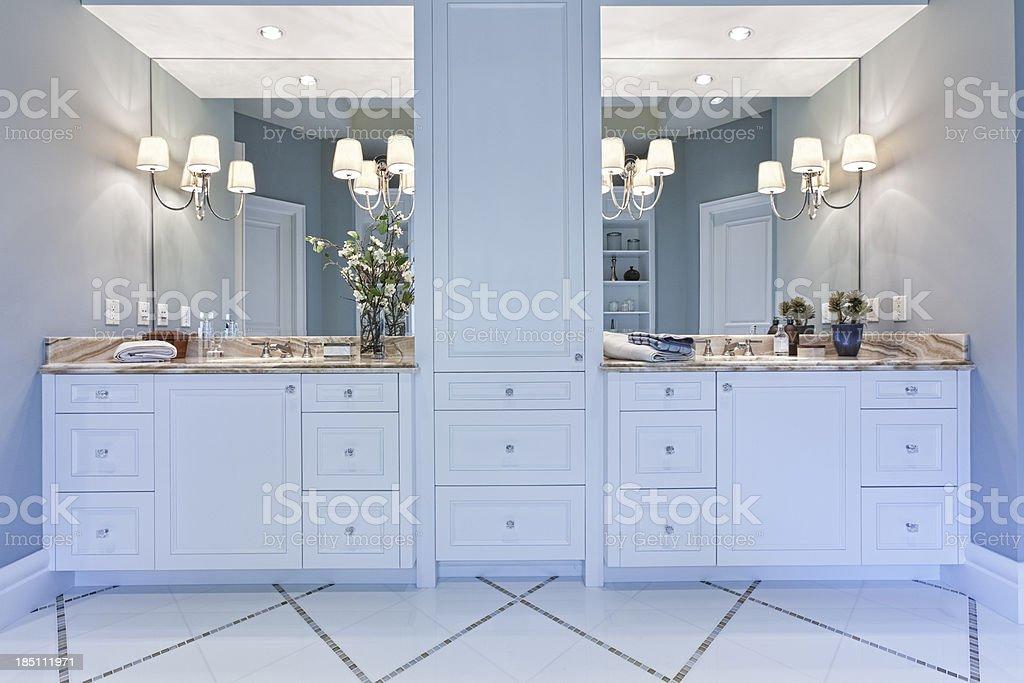 Master Bathroom stock photo
