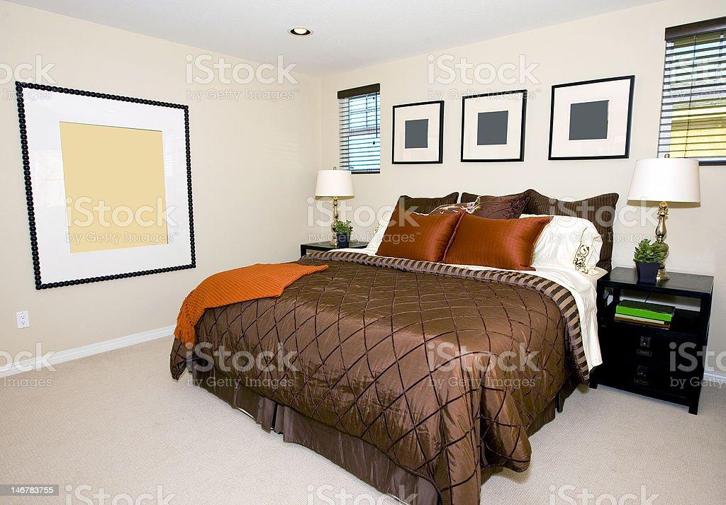Dormitorio principal foto de stock libre de derechos