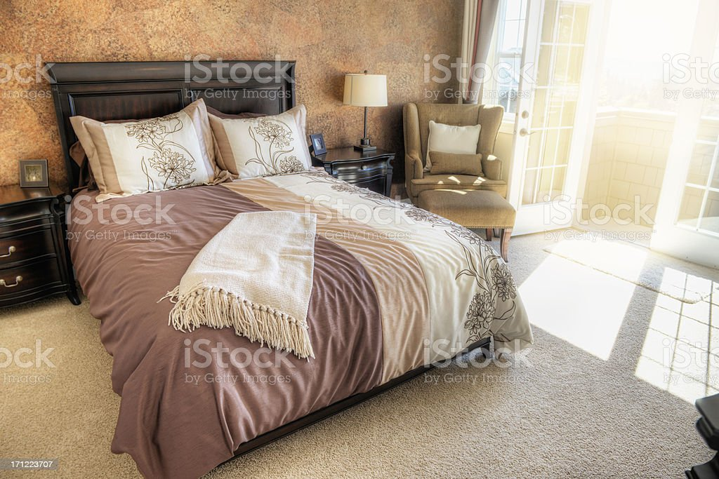 Master Bedroom royalty-free stock photo