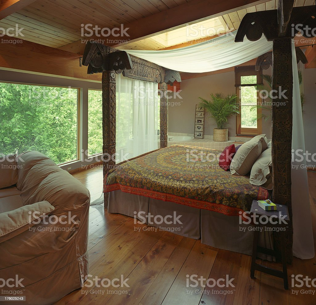 master bedroom view royalty-free stock photo