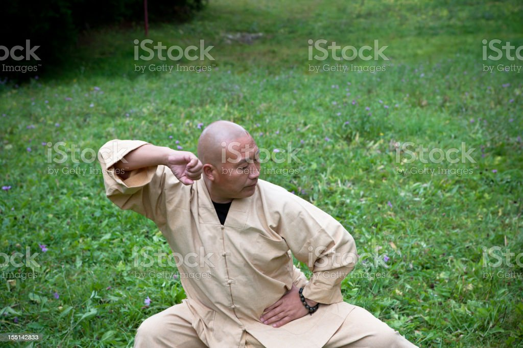 Master Shi De Cheng stock photo
