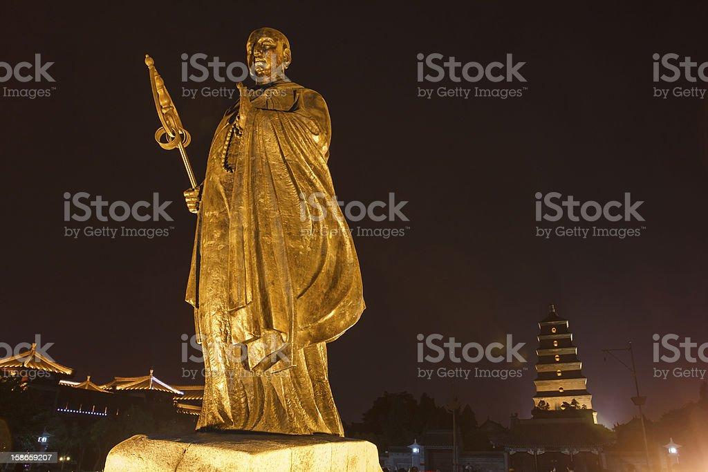 Master Xuan Zang royalty-free stock photo