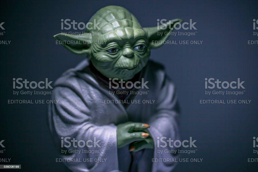 Master Yoda stock photo