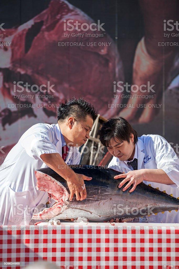 Masterchef Toshihiro Nakatsuji stock photo