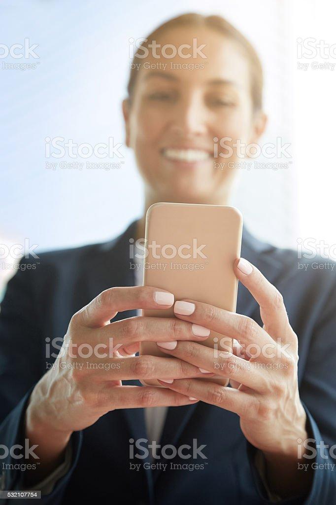Mastering social media for business stock photo