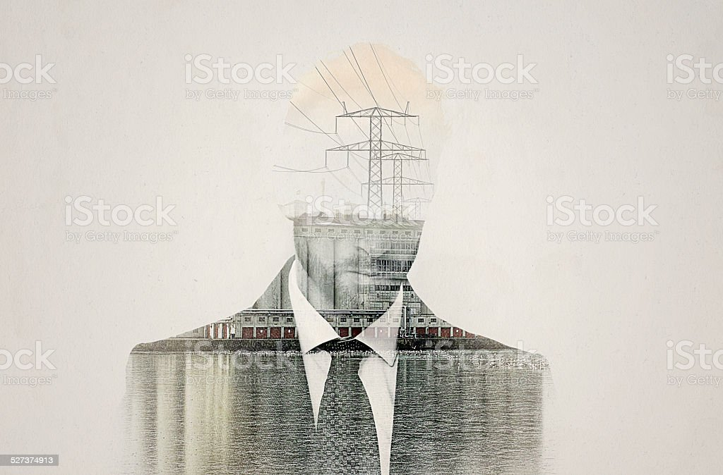 Mastering the mind stock photo