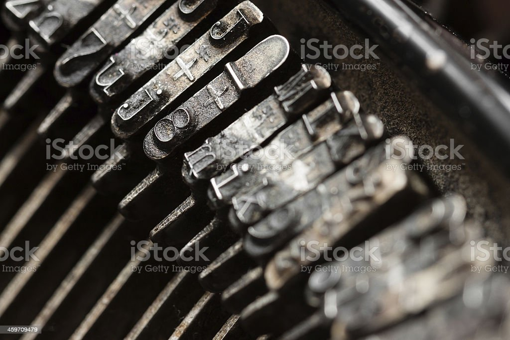 maszyna do pisania stock photo
