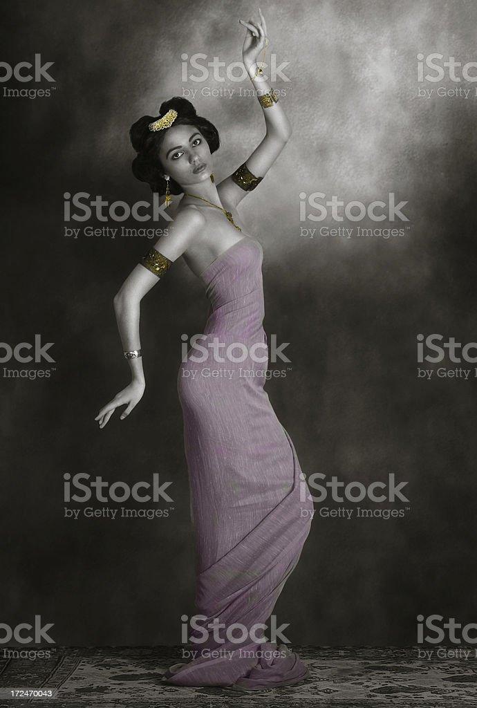 Mata Hari. Dancing Magic royalty-free stock photo