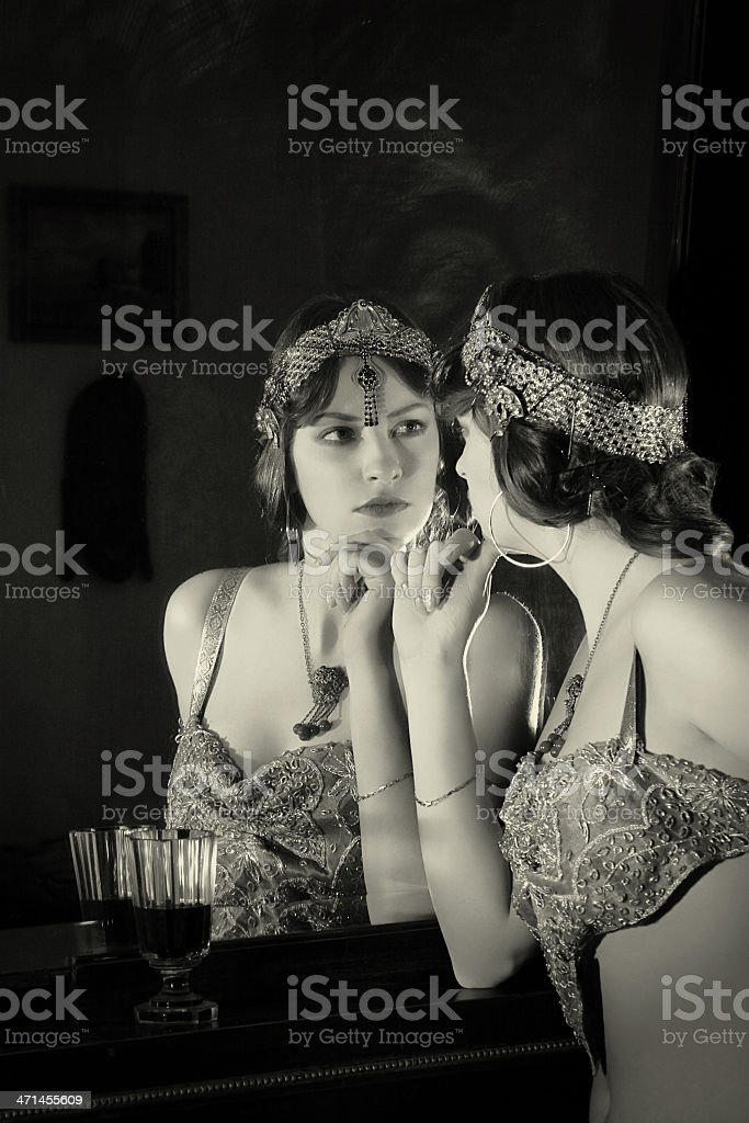 Mata Hari stock photo