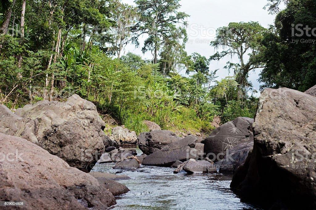Matagalpa River stock photo
