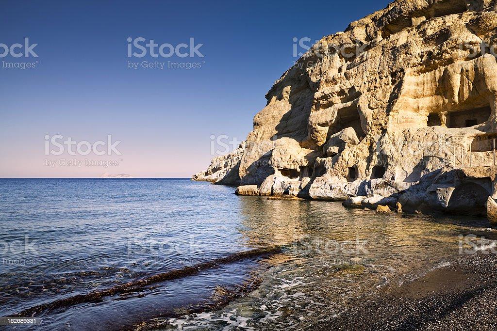 Matal beach at sunrise royalty-free stock photo