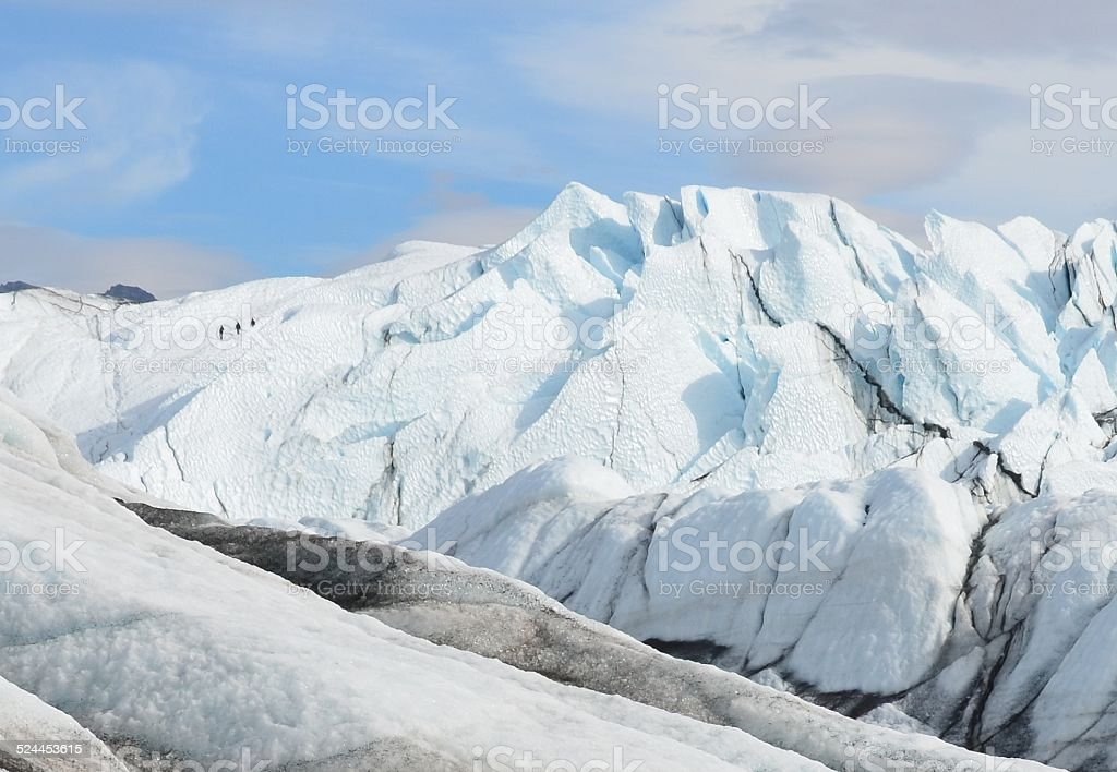 Matanuska Glacier, Alaska stock photo