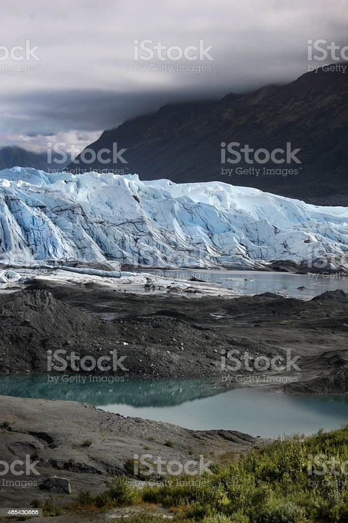 Matanuska Glacier stock photo