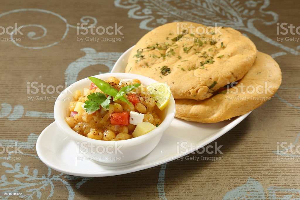 Matar kulcha stock photo