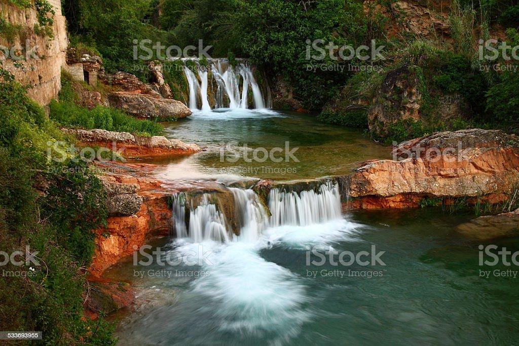 Matarra?a river, Beceite stock photo