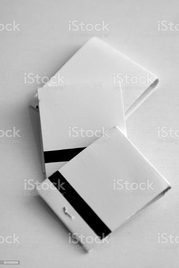 match books stock photo