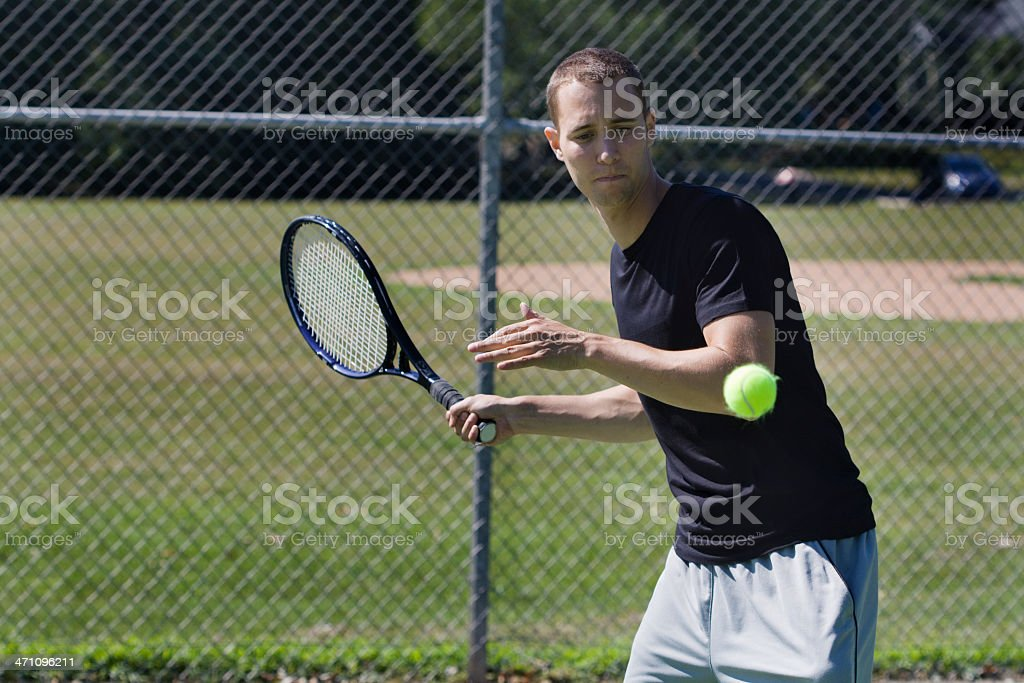 Match Point royalty-free stock photo