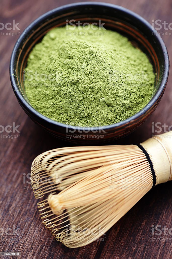 matcha royalty-free stock photo