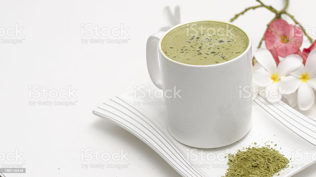 Uji Matcha royalty-free stock photo