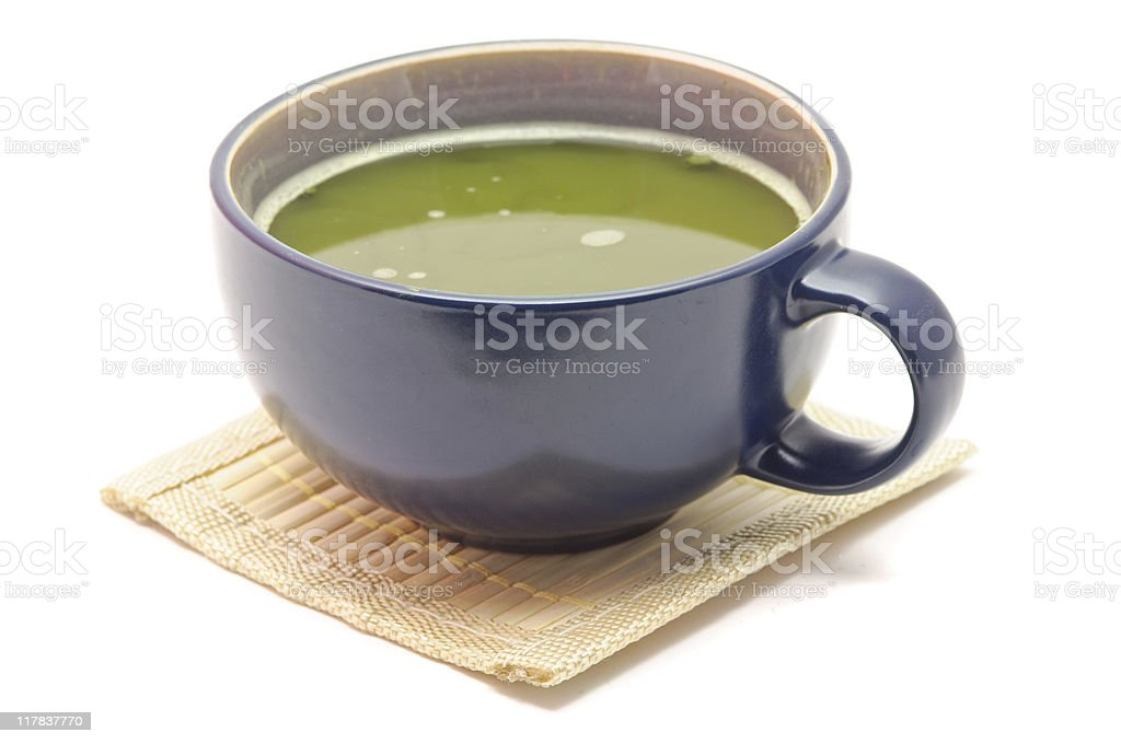 Matcha/Maccha Green Tea royalty-free stock photo