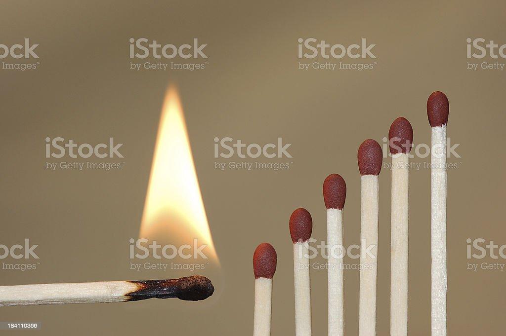 Matches_1 stock photo