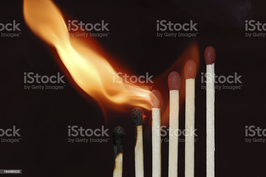 Matches_3 royalty-free stock photo